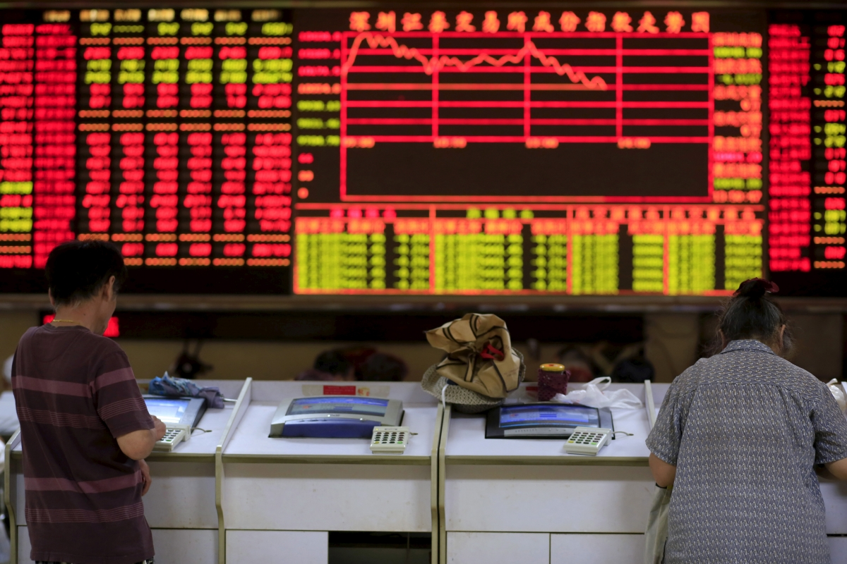 Asian markets mostly flat in response to Chinese economic data
