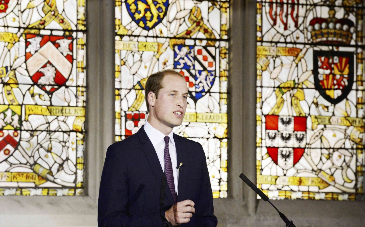 Prince William speaks out on illegal wildlife trade in China
