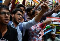 Protest about Dalit treatment