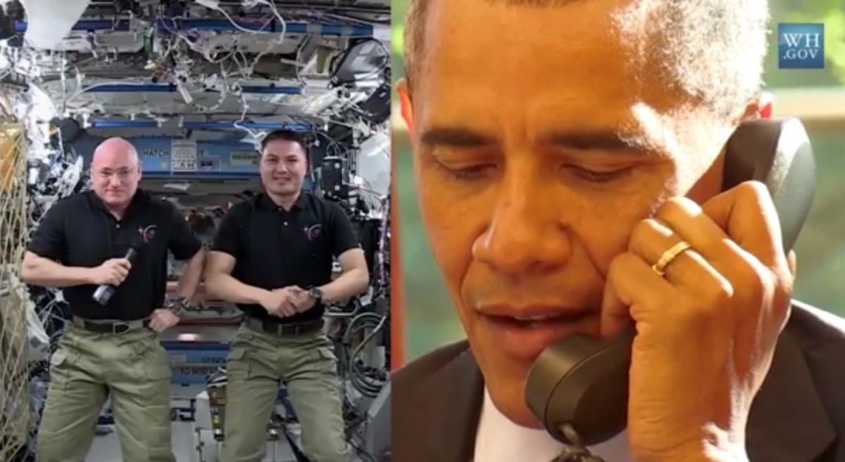 obama scott kelly