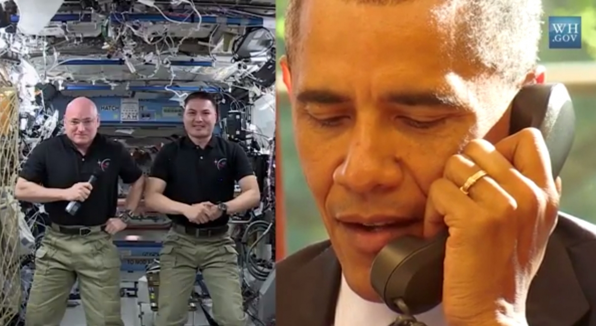 obama scott kelly