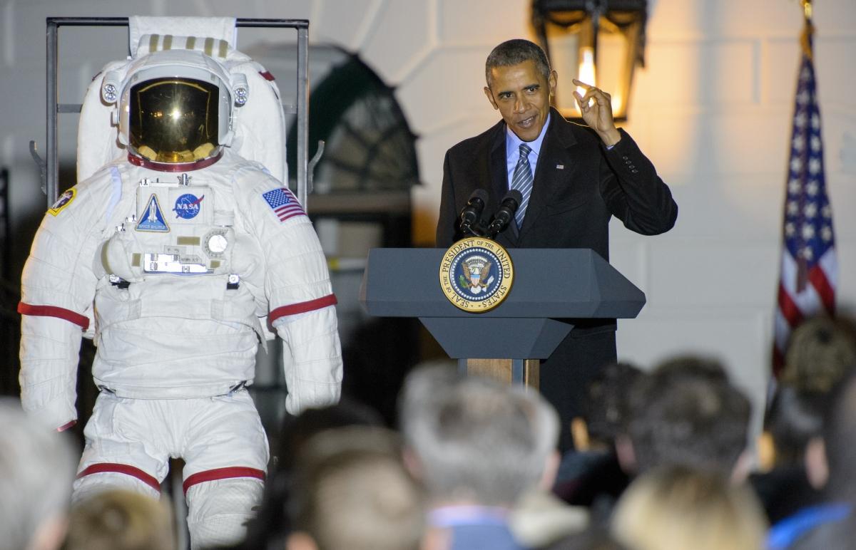 president obama astronomy night