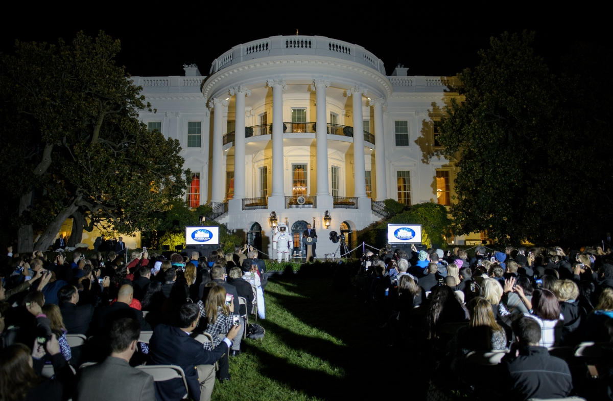 astronomy night white house