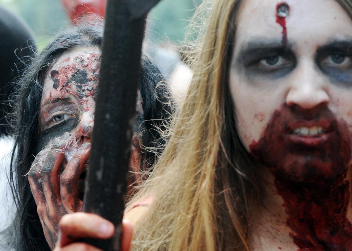Zombie walk Moscow