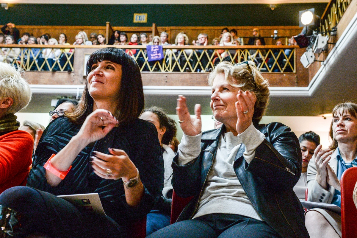 Sandi Toksvig Catherine Mayer Women's Equality Party