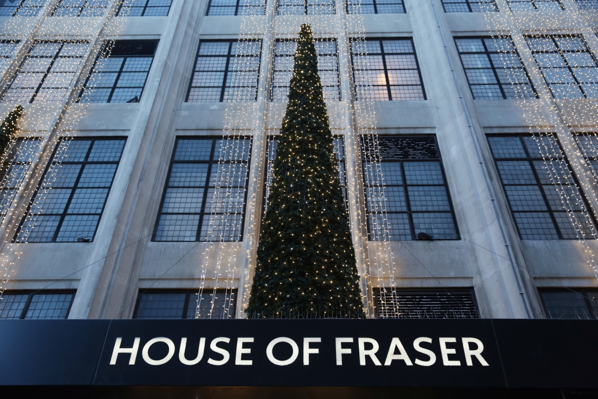 House of Fraser store front