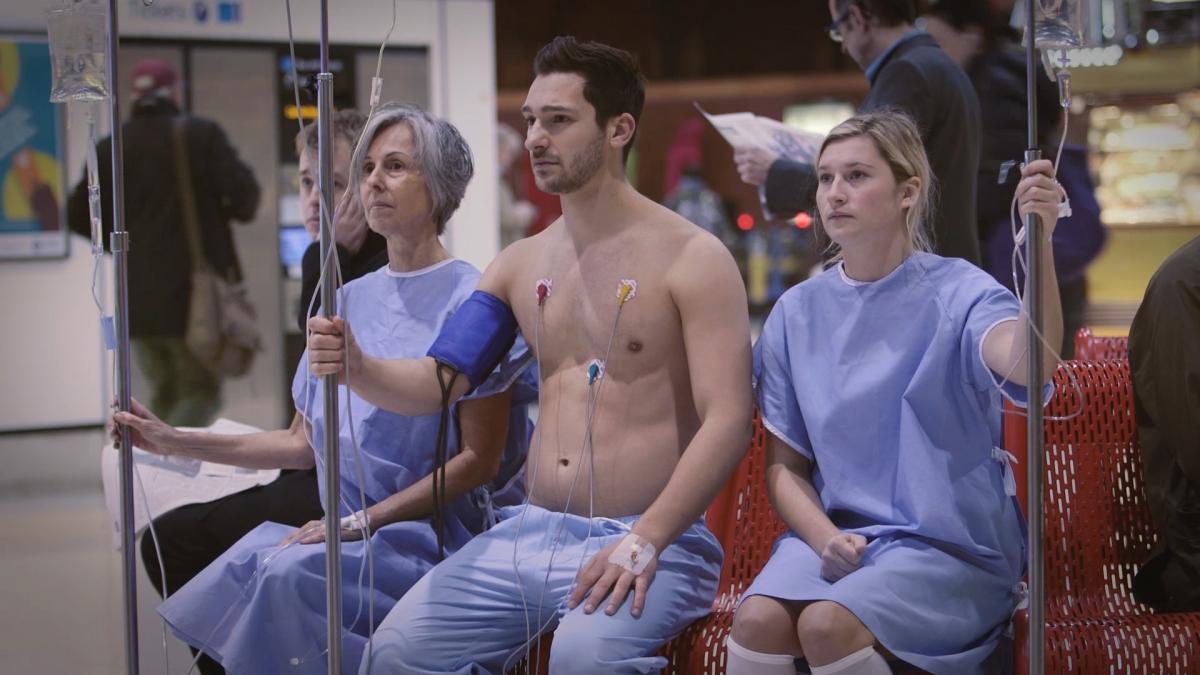 Organ transplant protest