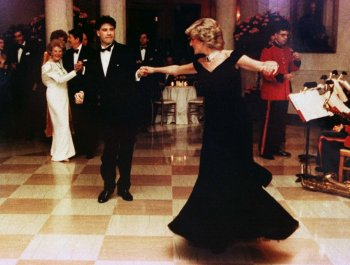 Princess Diana at White House in 1985