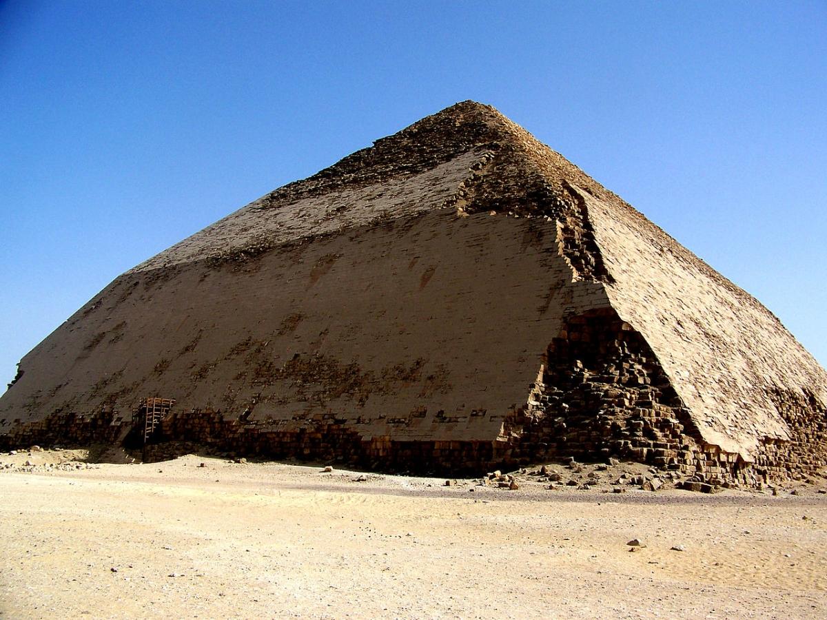 King Sneferu's Bent Pyramid