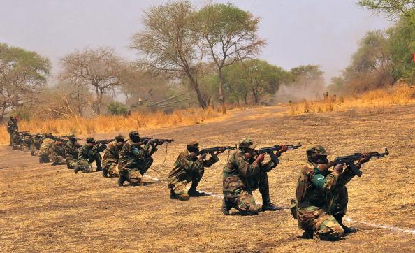 South Sudan Ugandan troops