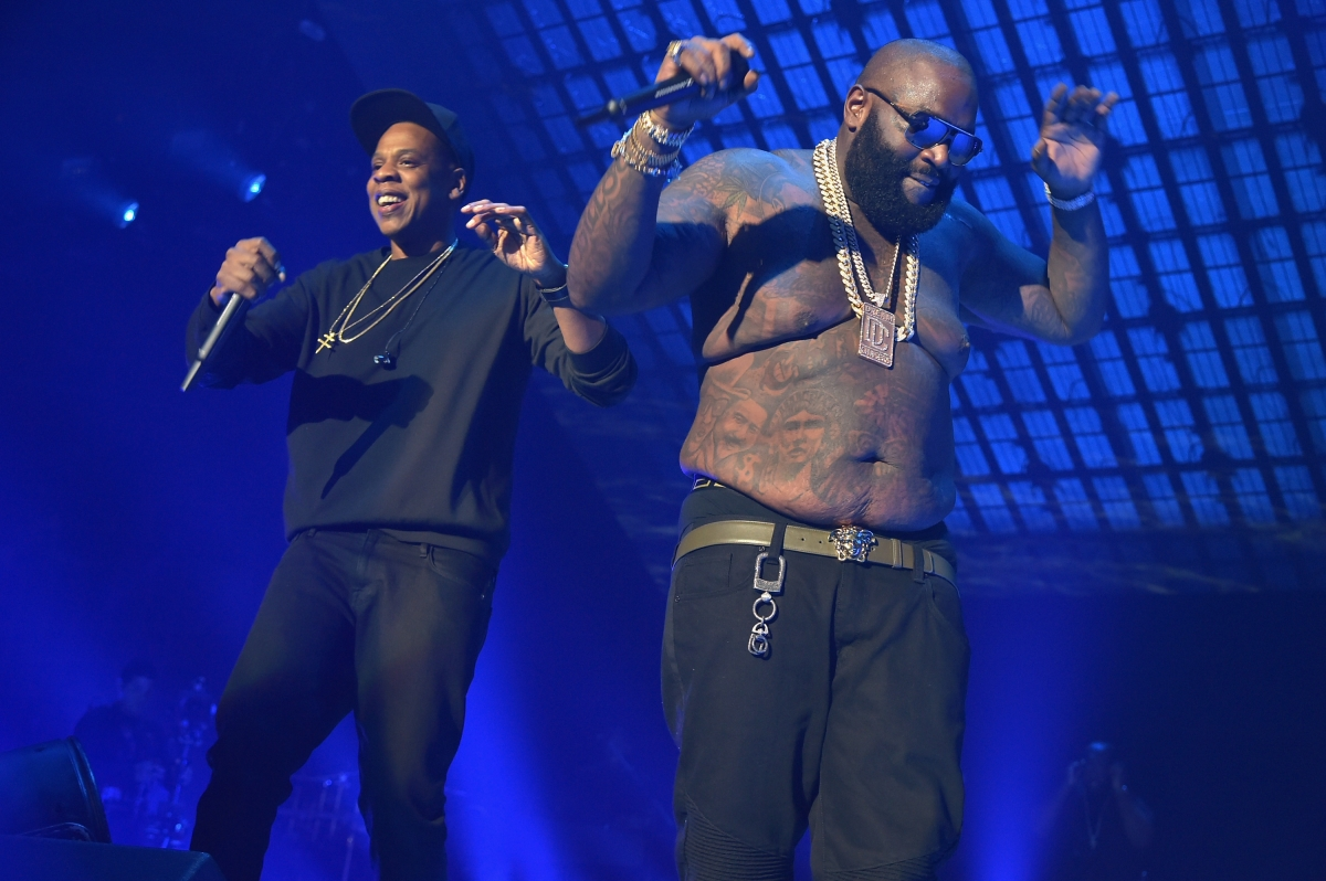 Jay Z and Rick Ross
