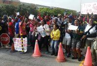 Student protests at Nelson Mandela Metropolitan University
