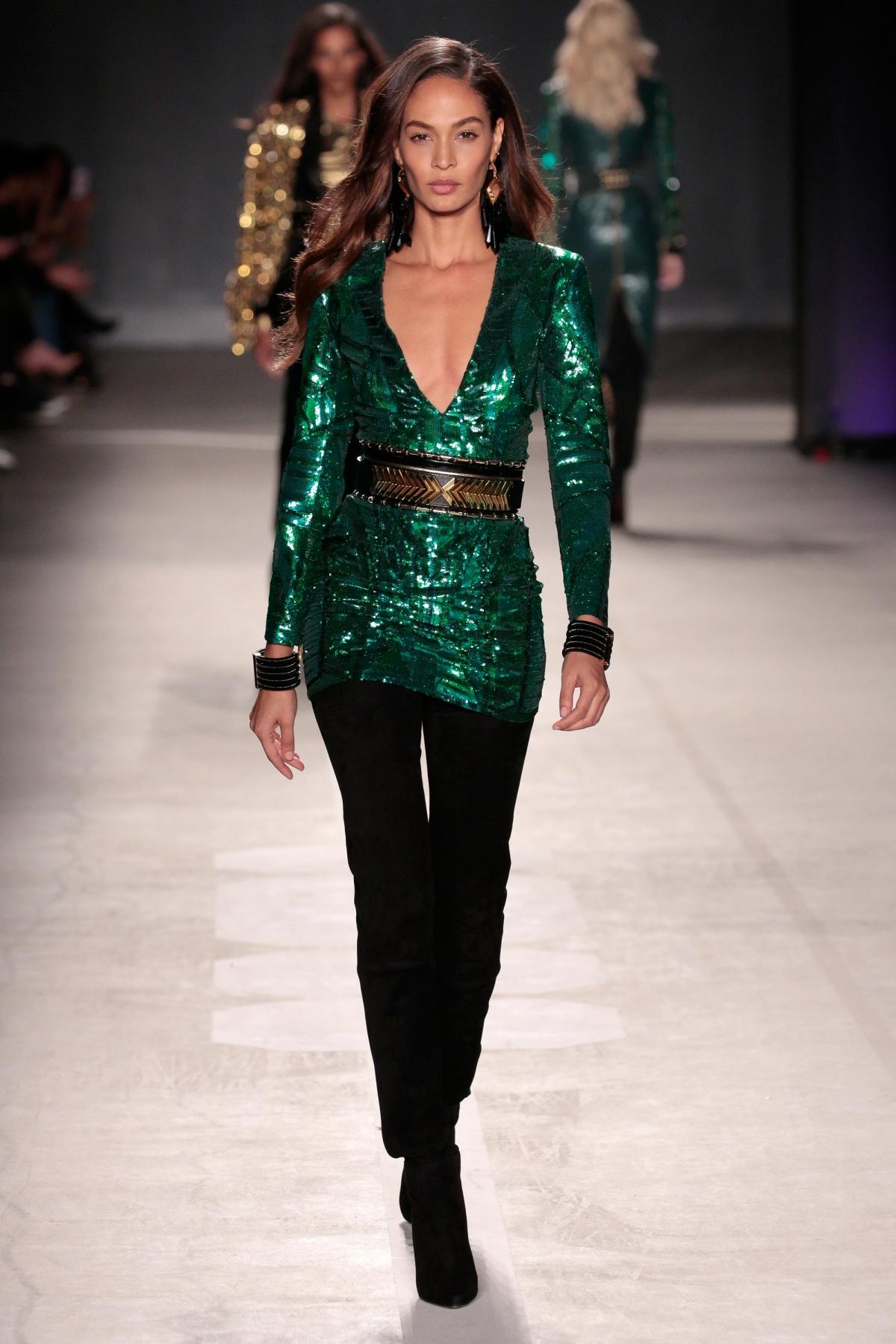 Joan Smalls Balmain x H&M