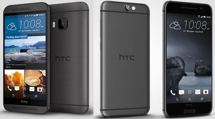 HTC One A9 vs One M9