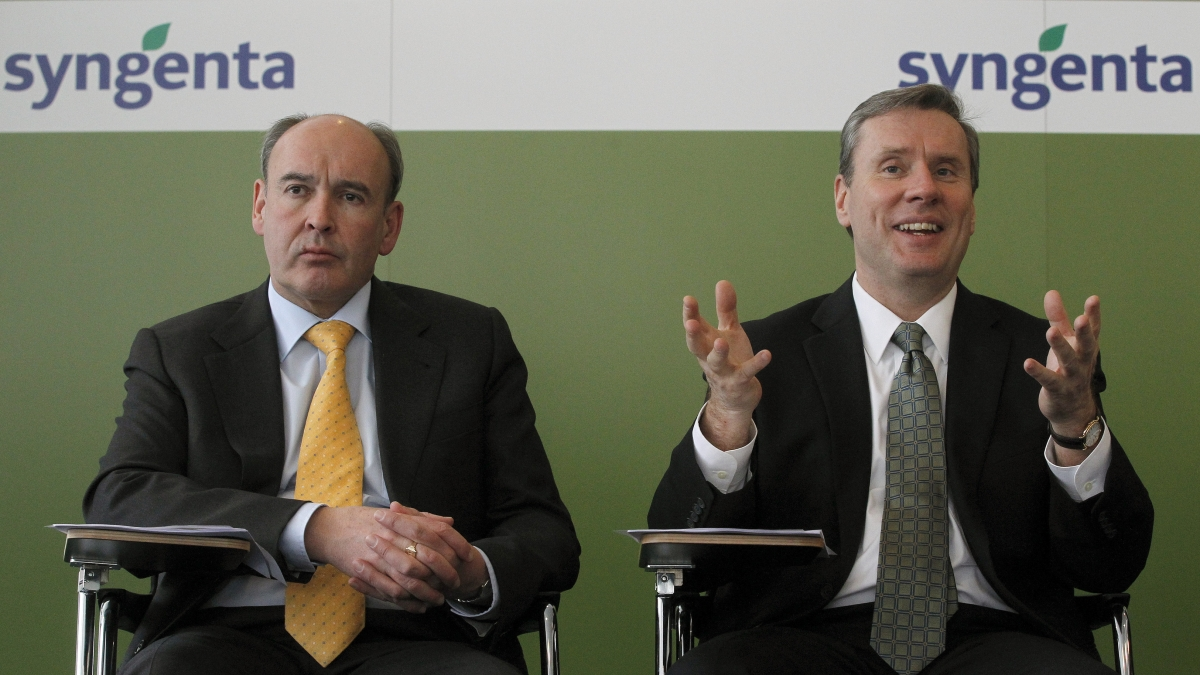 Syngenta CEO Mike Mack steps down following shareholder disappointment on Monsanto deal