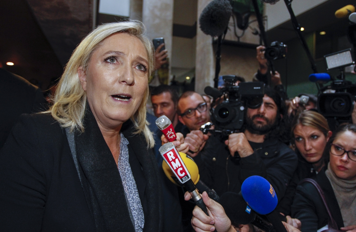 Marine Le Pen trial