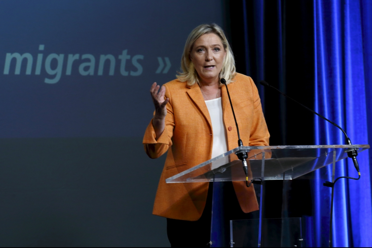 Marine Le Pen and the migrant crisis