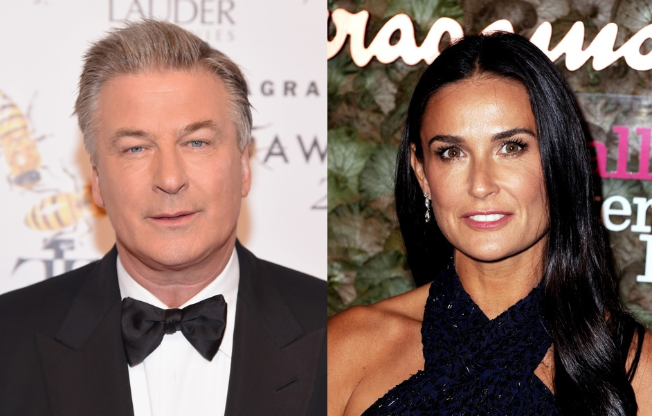 Alec Baldwin and Demi Moore