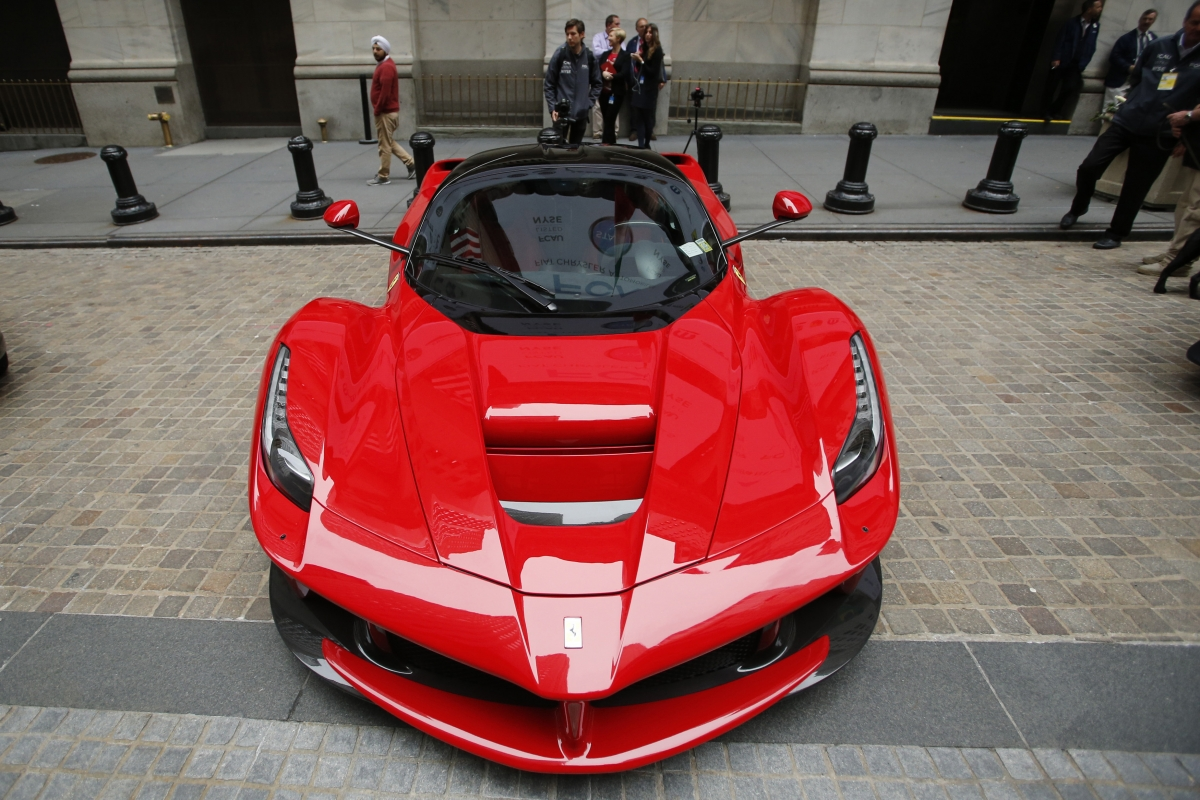 A Ferrari car