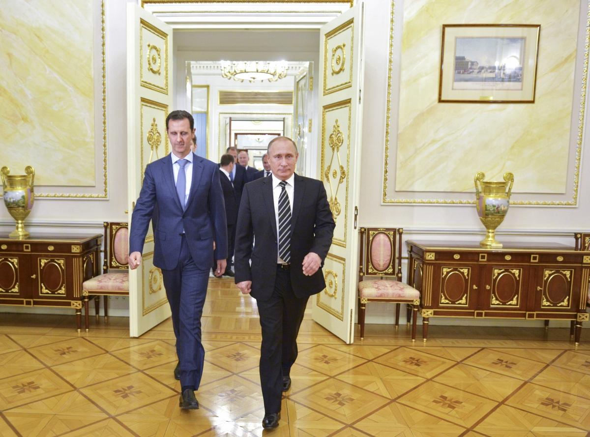 Putin Assad meeting