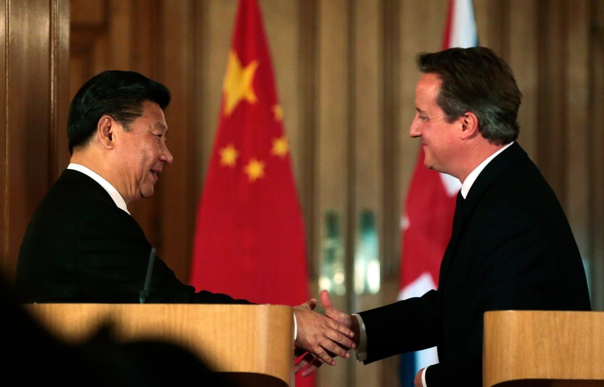 Cameron Xi Jinping
