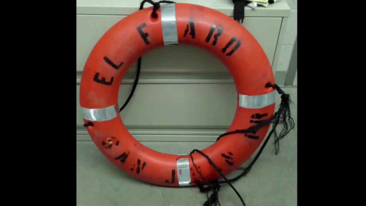 El Faro cargo ship debris