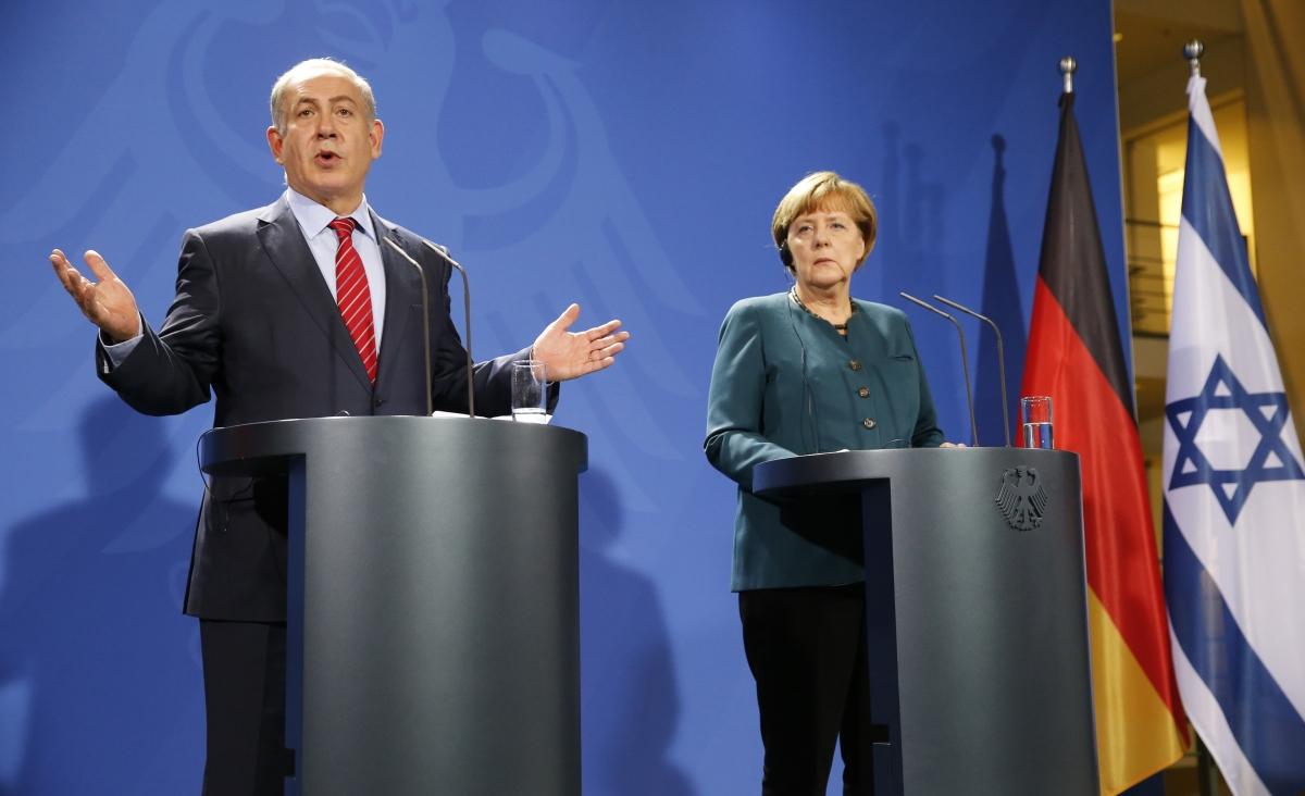Benjamin Netanyahu in Berlin