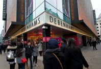 Debenhams shares surge