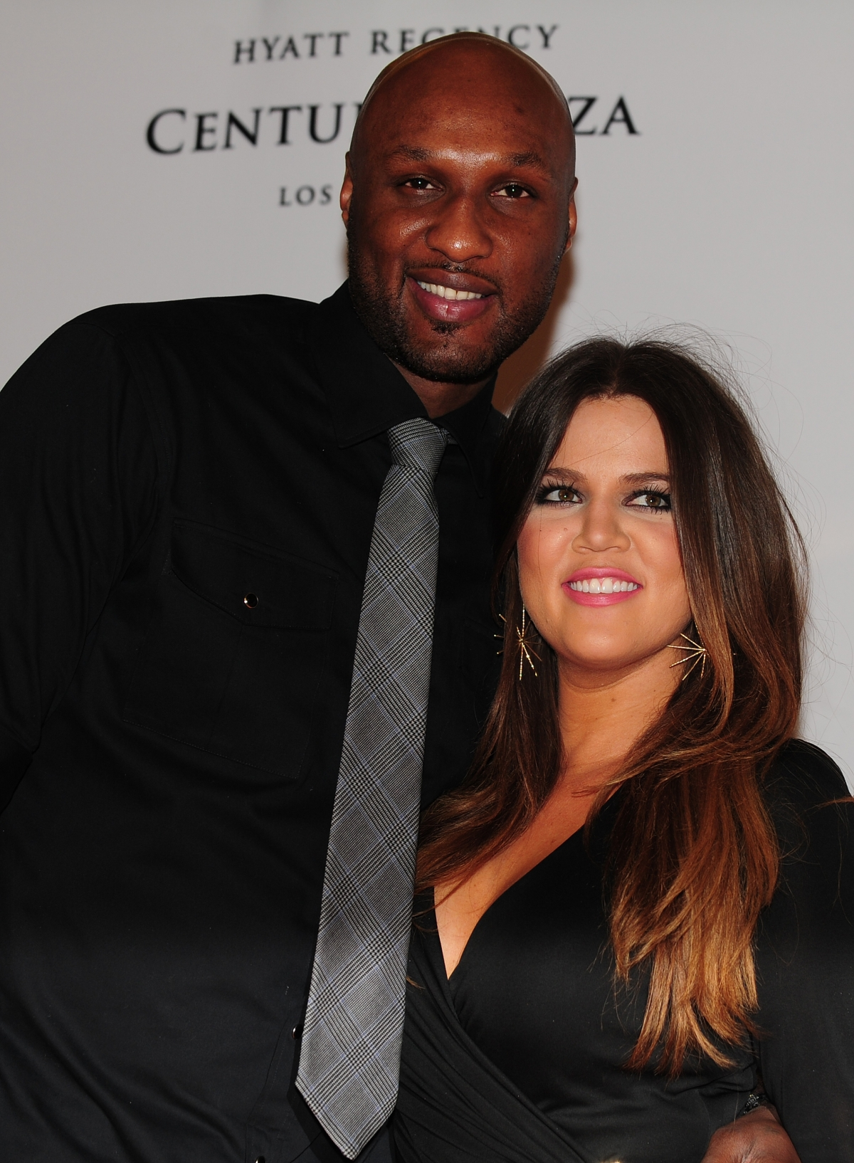 Khloe and Lamar