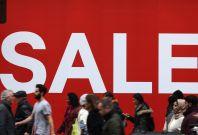 Sale on the high street