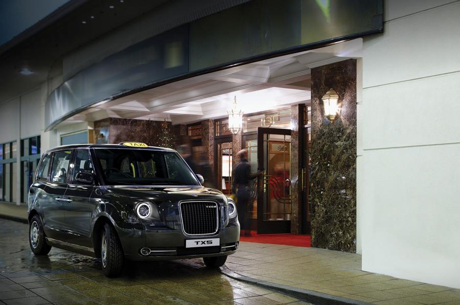 TX5 electric London black cab