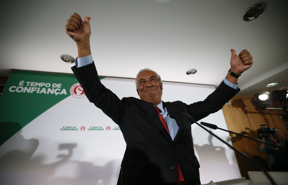 Portugal's new leftist coalition