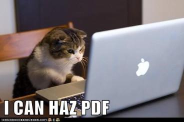I can haz PDF meme