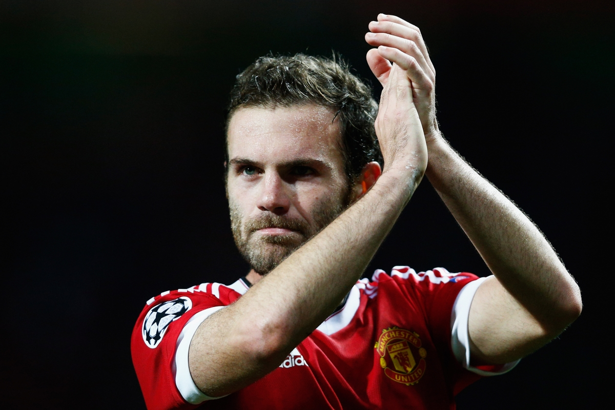 Manchester United Playmaker Juan Mata 'rested' For CSKA