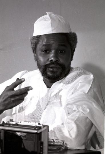 Chad's dictator Hissene Habre