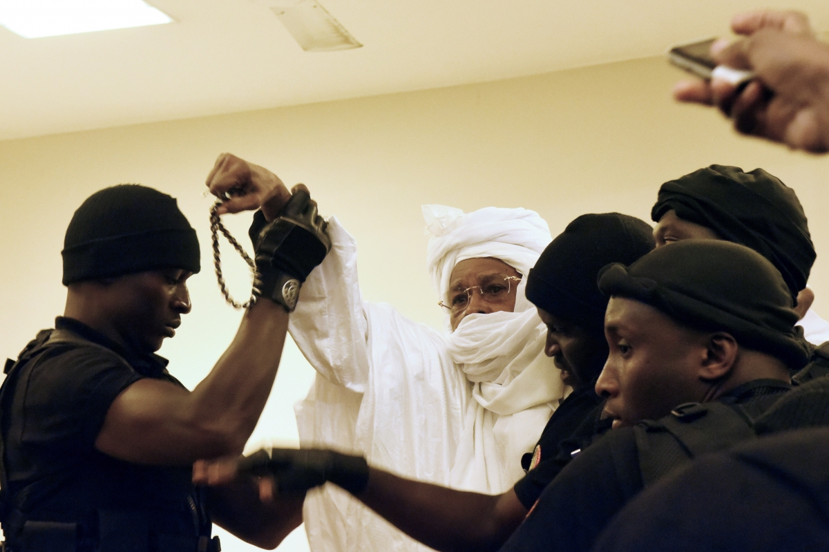 Chad's dictator Hissene Habre trial
