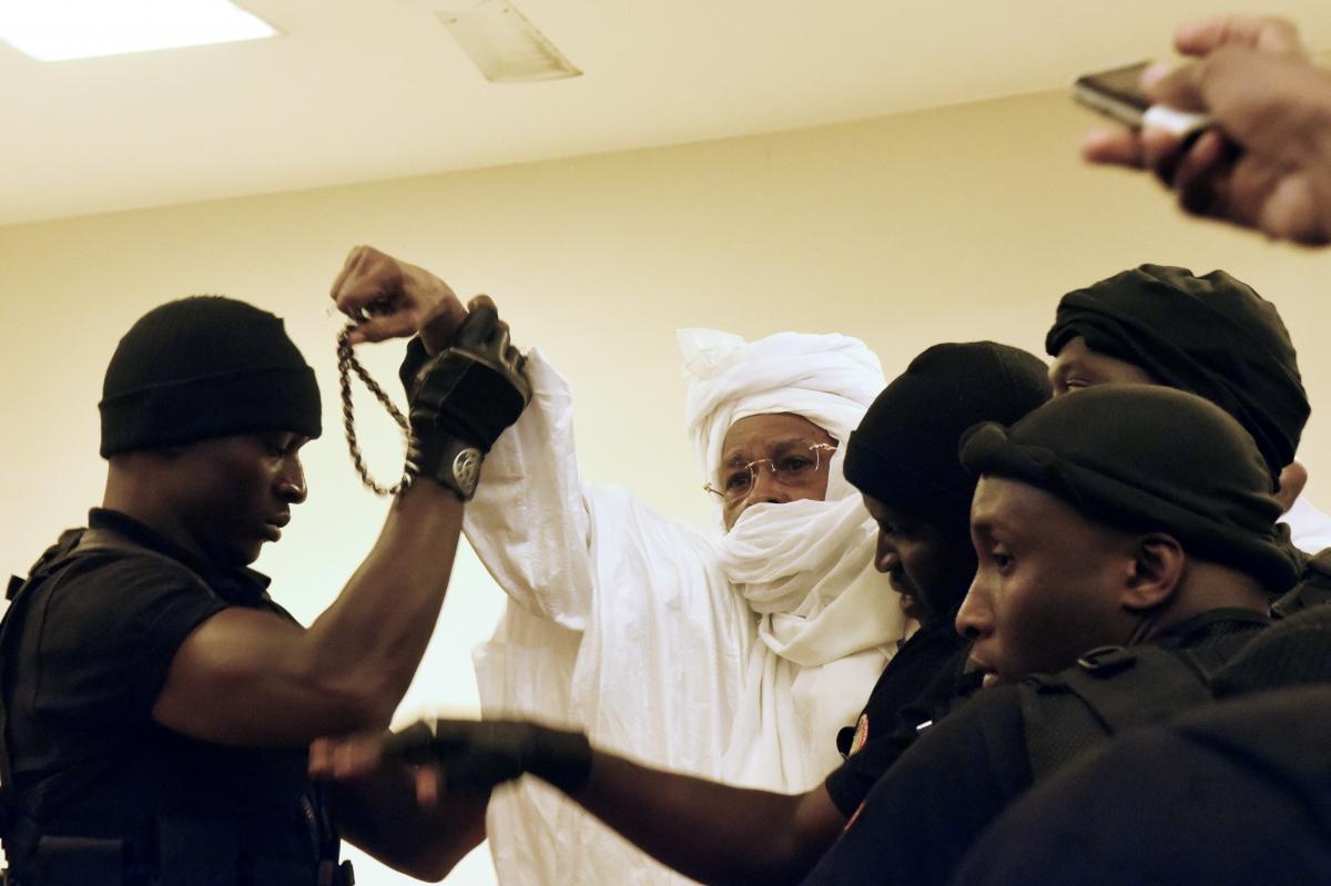 Chad\'s dictator Hissene Habre trial