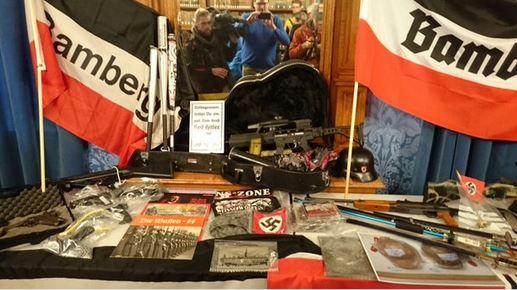 Police raids Zeo Nazi group