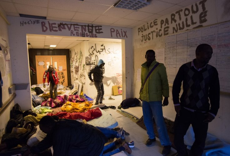 Migrants evicted from Paris high-school