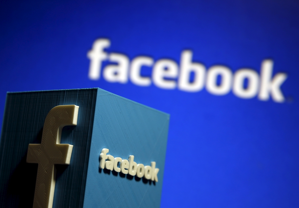 Facebook logo and sign