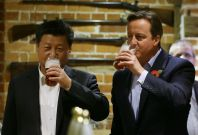 Xi Jinping and Cameron