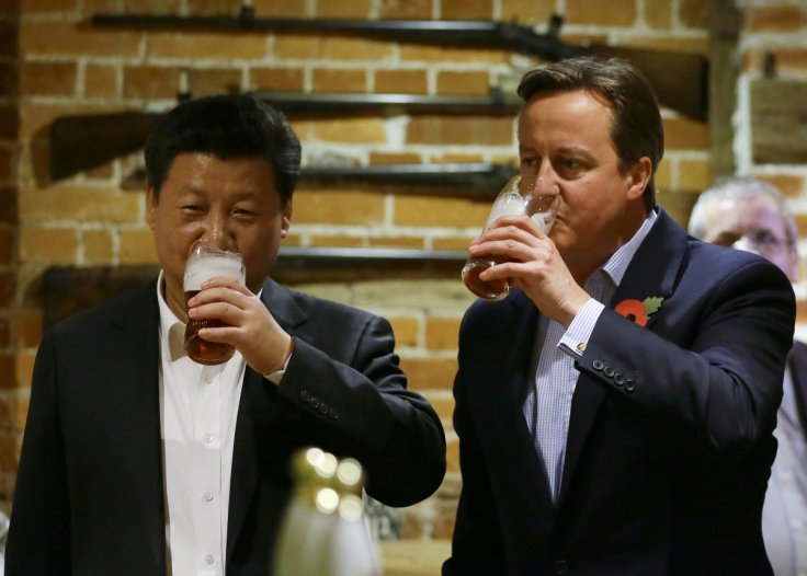 Xi Jinping and Cameron