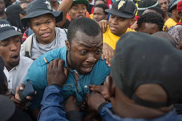 South Africa student protest