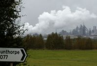 Scunthorpe steel plant