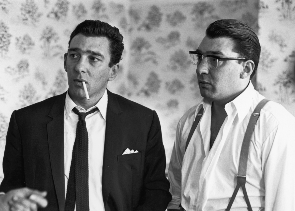 Gangster Ronnie and Reggie Kray in 1966