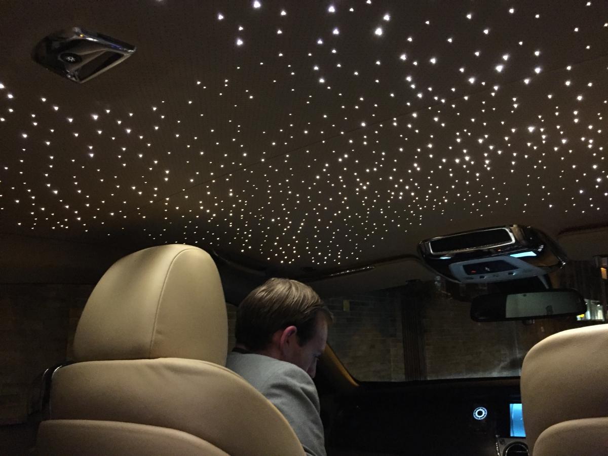 Rolls-Royce Wraith Skylight roof lining