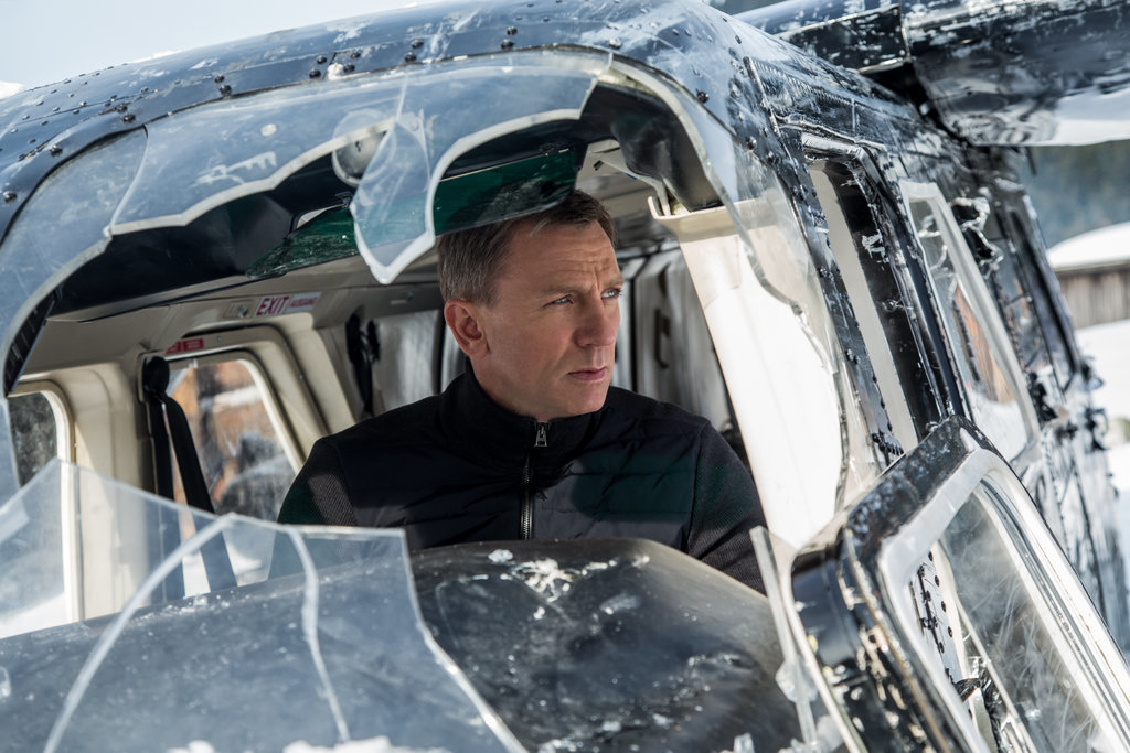 Daniel Craig in James Bond Spectre