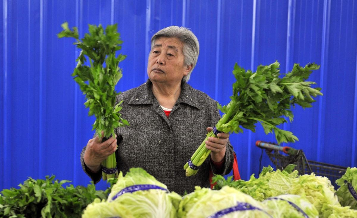 celery lady