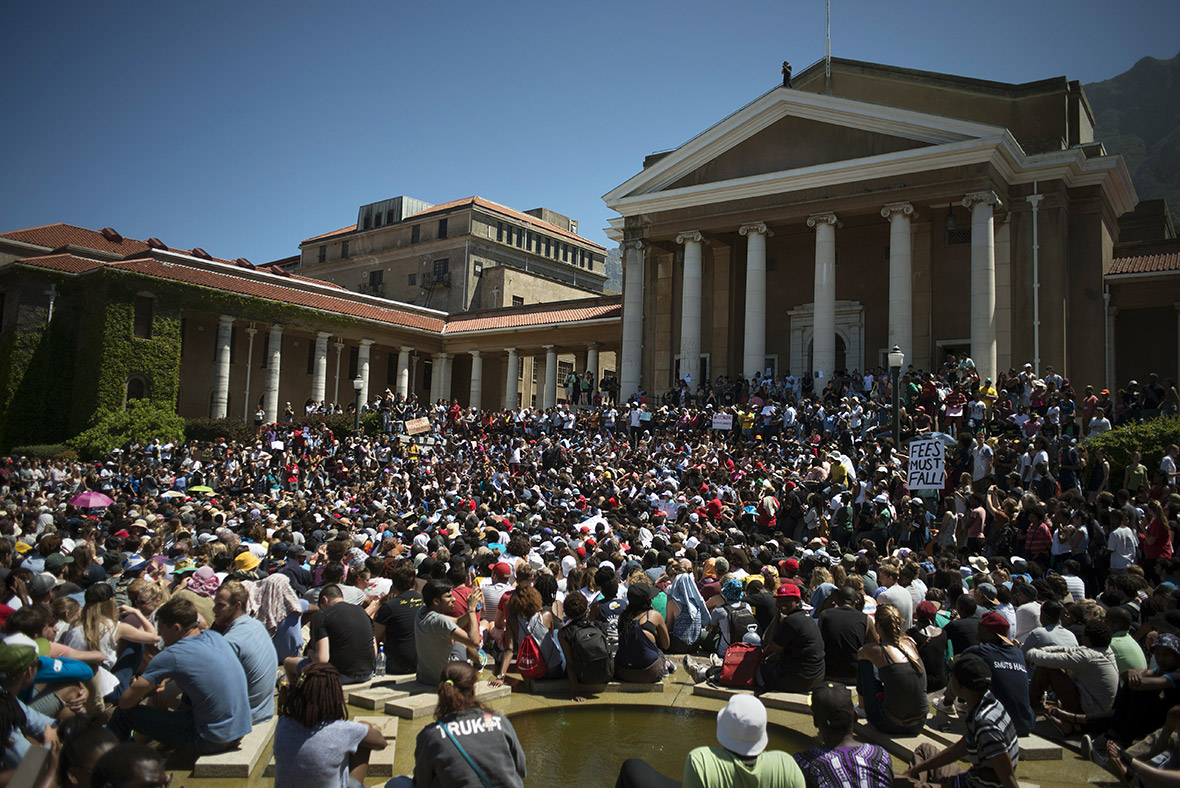 Fees Must Fall: South African students and police clash in ...
