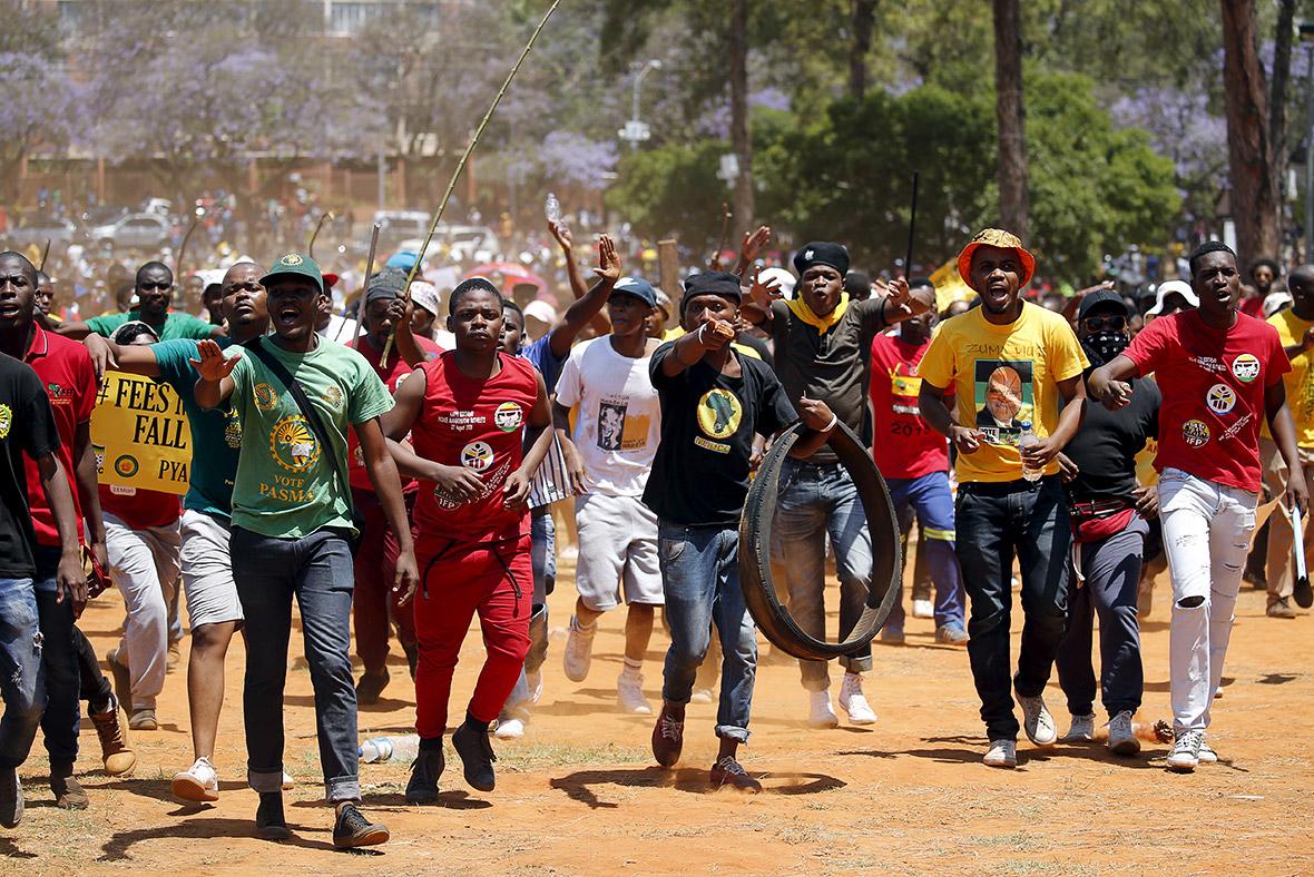 Wits university protest latest celebrity